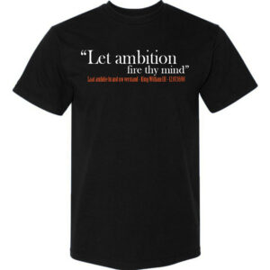 Ambition-Black T-shirt