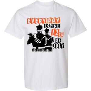 12th July-White T-shirt