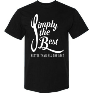 Simply-the-Best-Black T-shirt