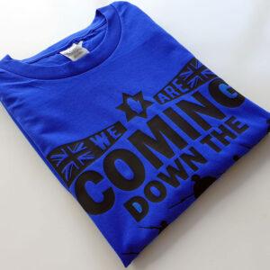 Coming-Down-Road-Blue-T-shirt-fold