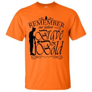Fathers-Advice-Orange-T-shirt