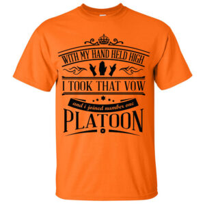 Platoon-Orange-T-shirt