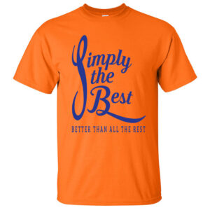 Simply-the-Best-Orange-T-shirt