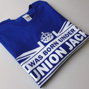 Born-Under-Blue-tshirt-folded