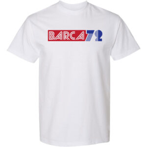 Barca72-White-T-shirt